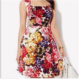 New York & Company Floral Dress Sz 12